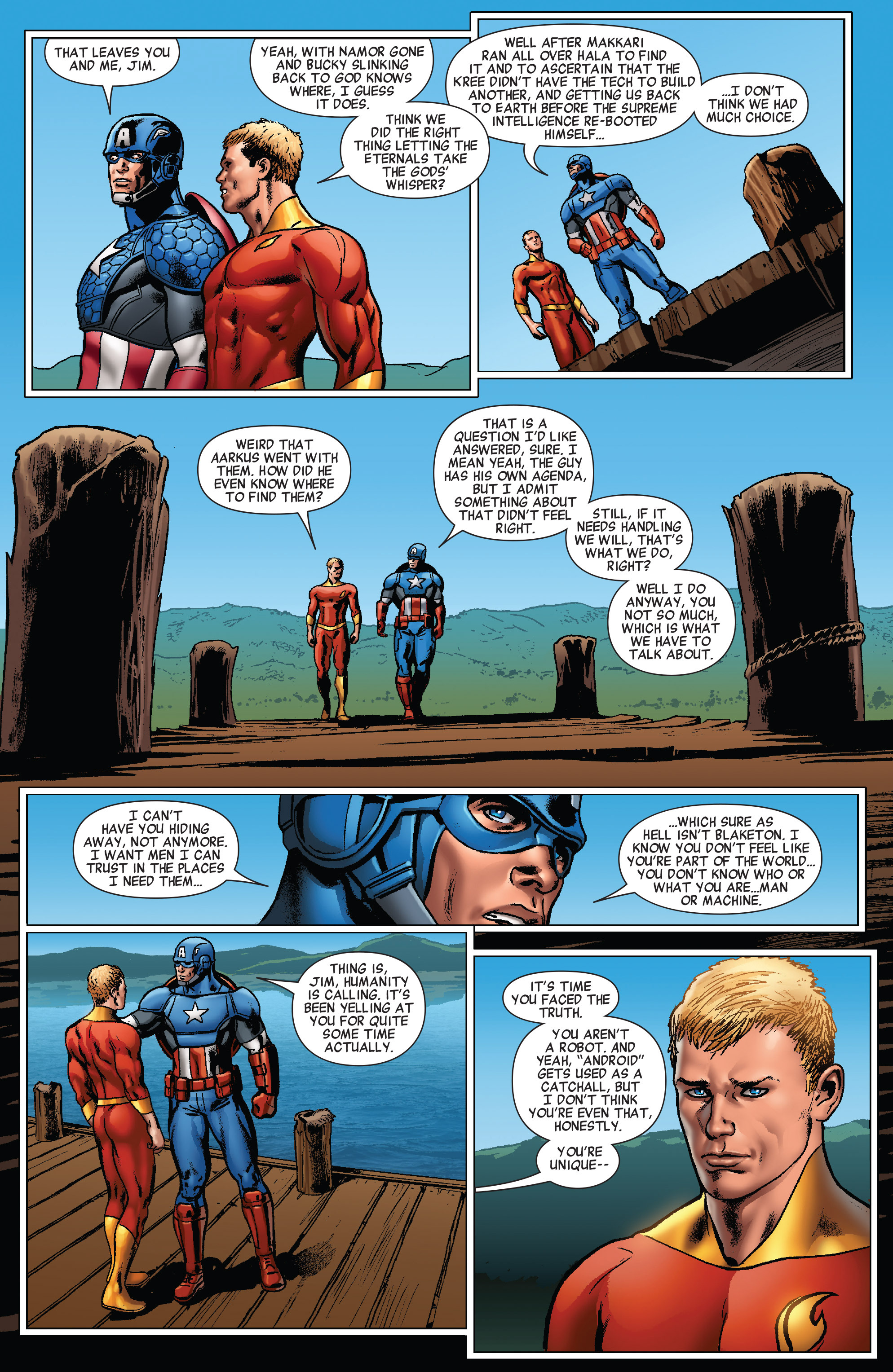 Read online All-New Invaders comic -  Issue #5 - 17