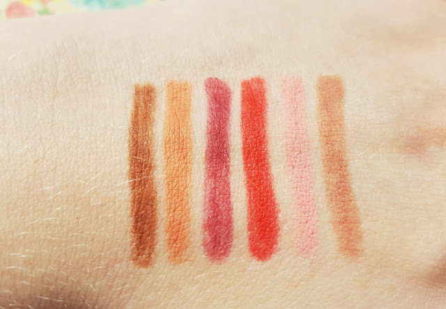 Primark P.S. Lip Liner Pencil Collection | Review & Swatches