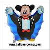 Balon Foil Mickey Mouse Dracula