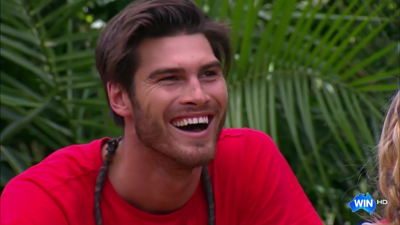 Auscaps Justin Lacko Shirtless In Im A Celebrity -8137