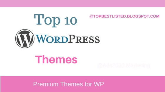 Top 10 WordPress Themes for Designing a Responsive Website-560x315