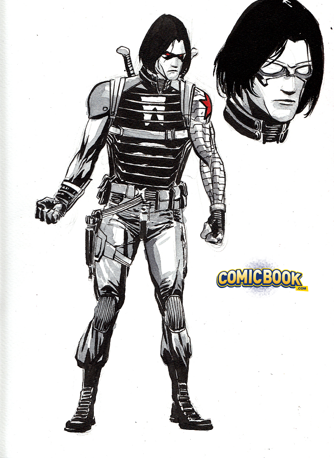 WINTER SOLDIER Gets a Comic Book Makeover to Match His MCU Look