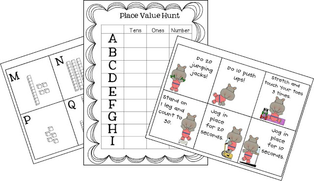 Susan Jones Teaching: Place Value Boot Camp and a FREEBIE!