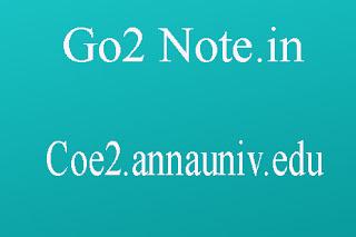 COE2.ANNAUNIV.EDU RESULTS 2018