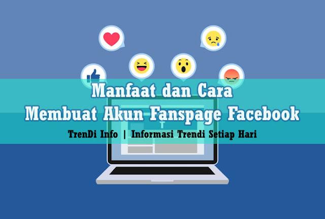 manfaat dan cara membuat Fanspage FB