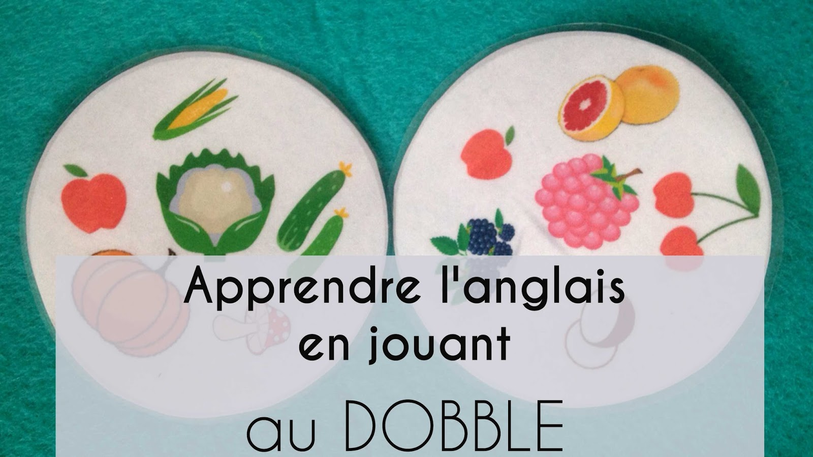 dobble-fruits and vegetables