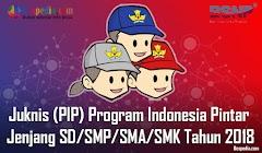 Lengkap - Juknis (PIP) Program Indonesia Pintar Untuk Jenjang SD/SMP/SMA/SMK Tahun 2018