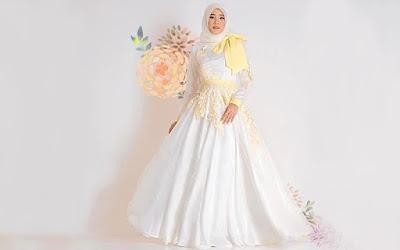 gaun untuk wanita berbadan tinggi