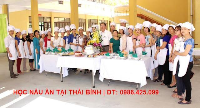 Học nấu ăn tại Thái Bình