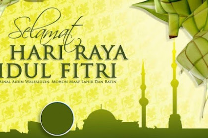 Dp Selamat Idul Fitri Lucu