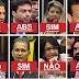 Deputados do AP que votaram pelo fim da CLT.