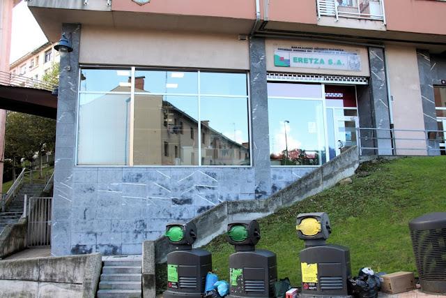 Oficinas de Eretza en la zona de Larrea
