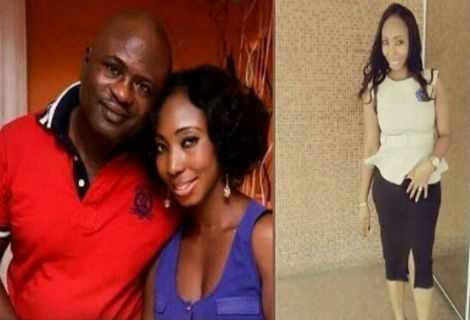 Family photos & corpse of Ronke Shonde who was allegedly killed by her husband today