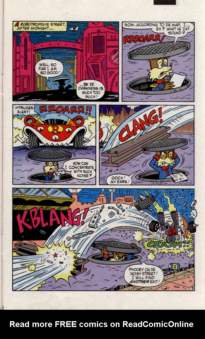Read online Sonic The Hedgehog comic -  Issue #23 - 22