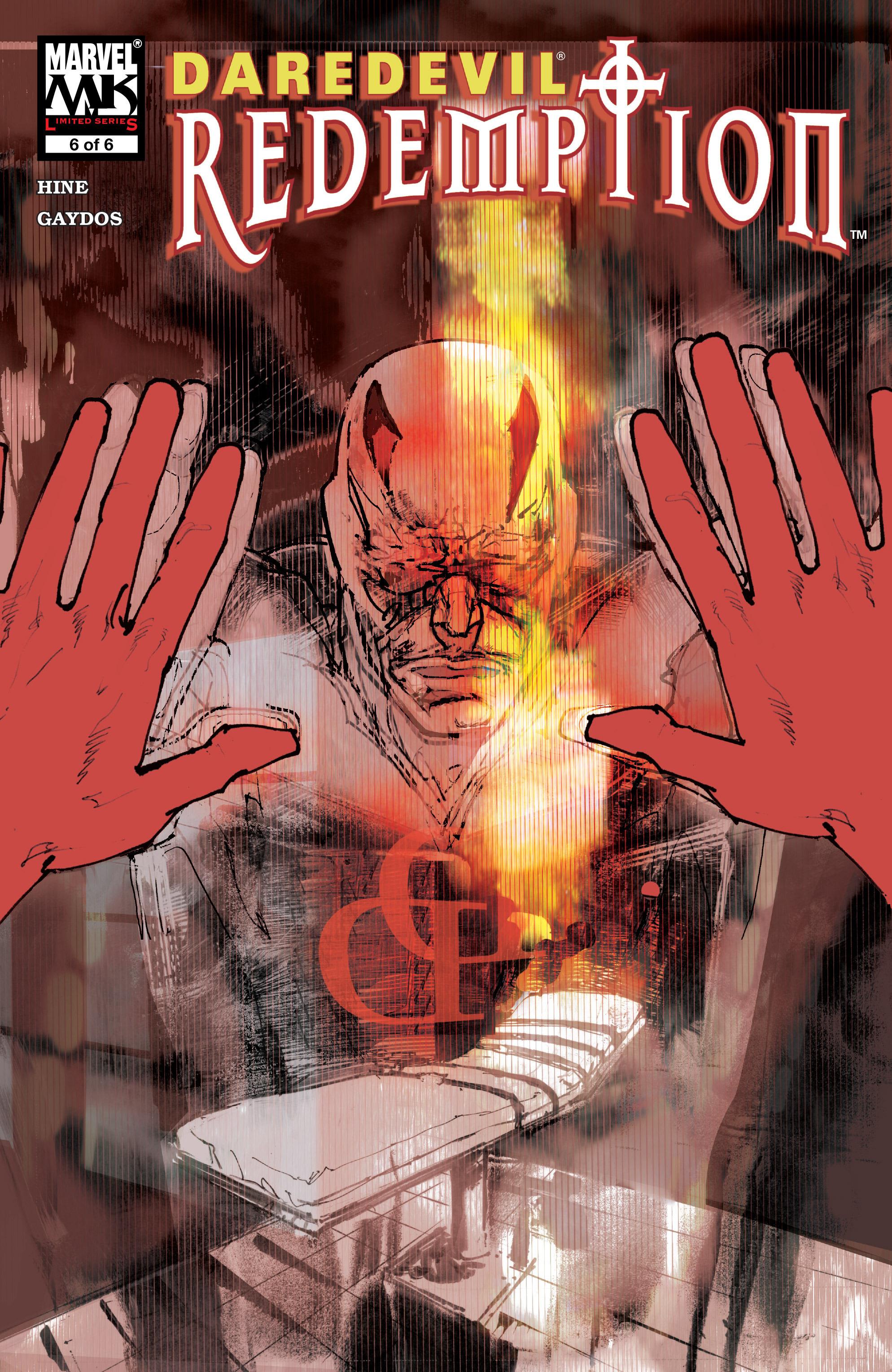 Daredevil: Redemption 6 Page 1