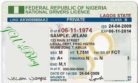 Obtaining driving licence in Lagos