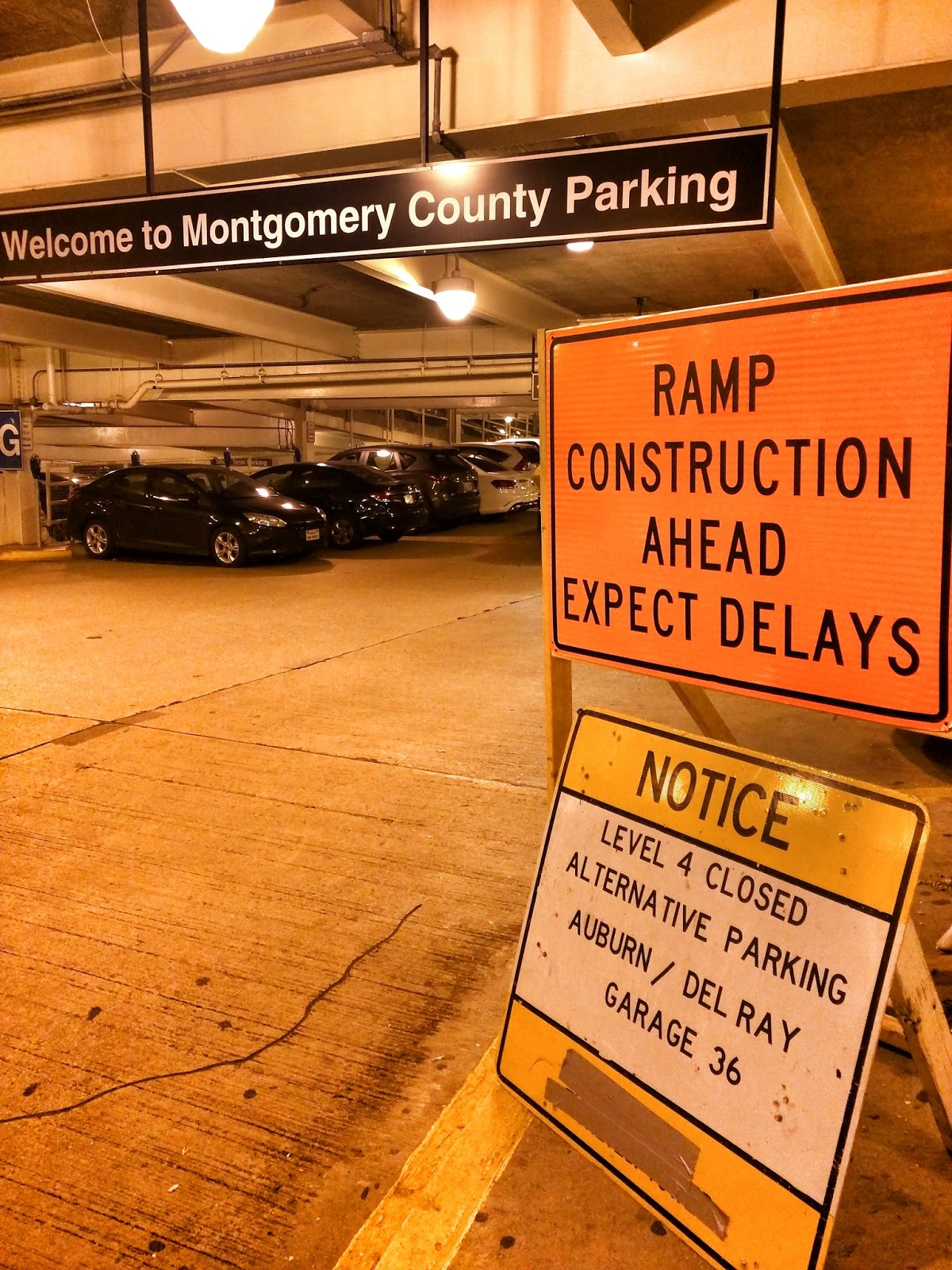 Robert Dyer Bethesda Row Garage Work Causes Closures In Downtown