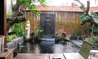 TUKANG TAMAN JAKARTA - WATER WALL DAN KOLAM KOI