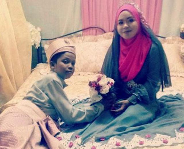 Fakta Dan Kenyataan Pahit di Balik Foto Pernikahan 'Bocah' Ini