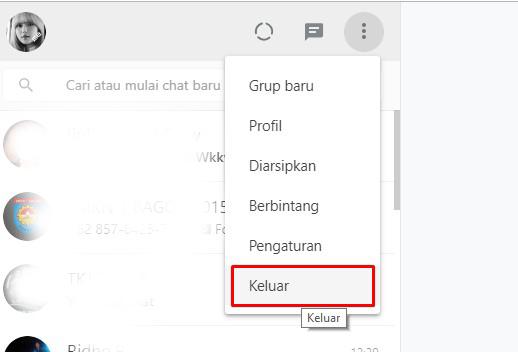 Cara Membuka WA (WhatsApp) di Browser Laptop 17