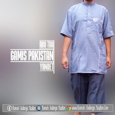 Gamis Pakistan Abu Tua Katun Yandet