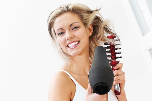 sécher cheveux sans les abîmer