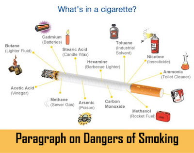 dangers of smoking paragraph