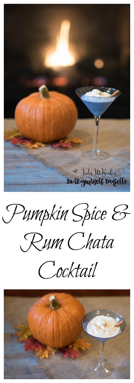 How to make a pumpkin spice chata cocktail.