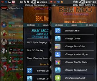 BBM Mod BBKU Transparent V3.3.0.16 Apk