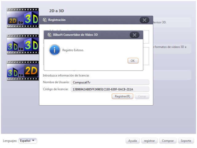 Xilisoft 3D Video Converter 1.1.0 Build 2017 Full Español