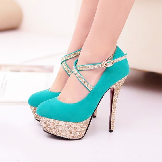 Strappy High Heel Fashion Shoes