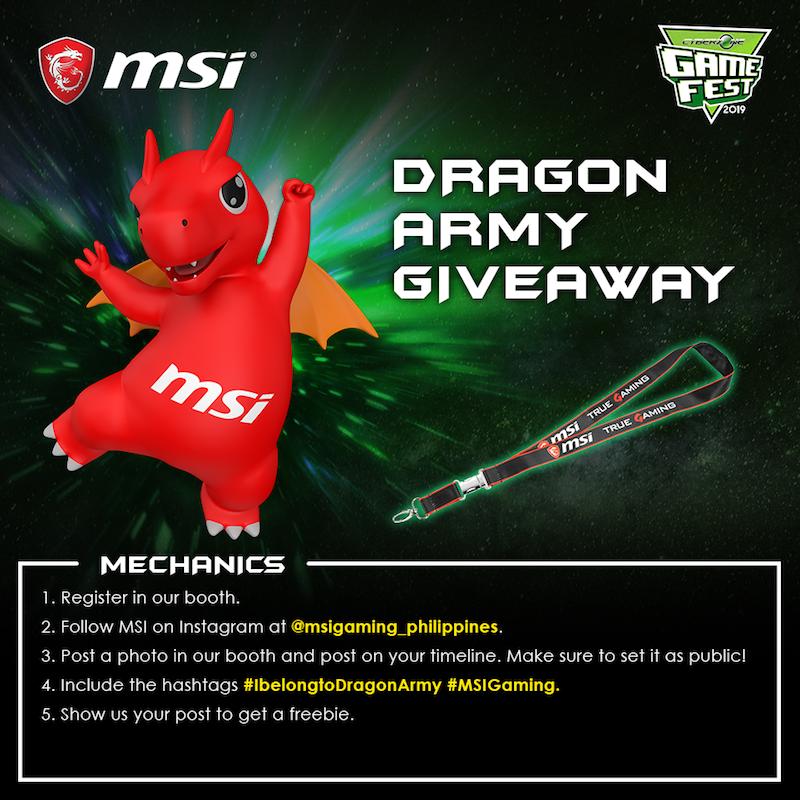 MSI Dragon Army Giveaway mechanics