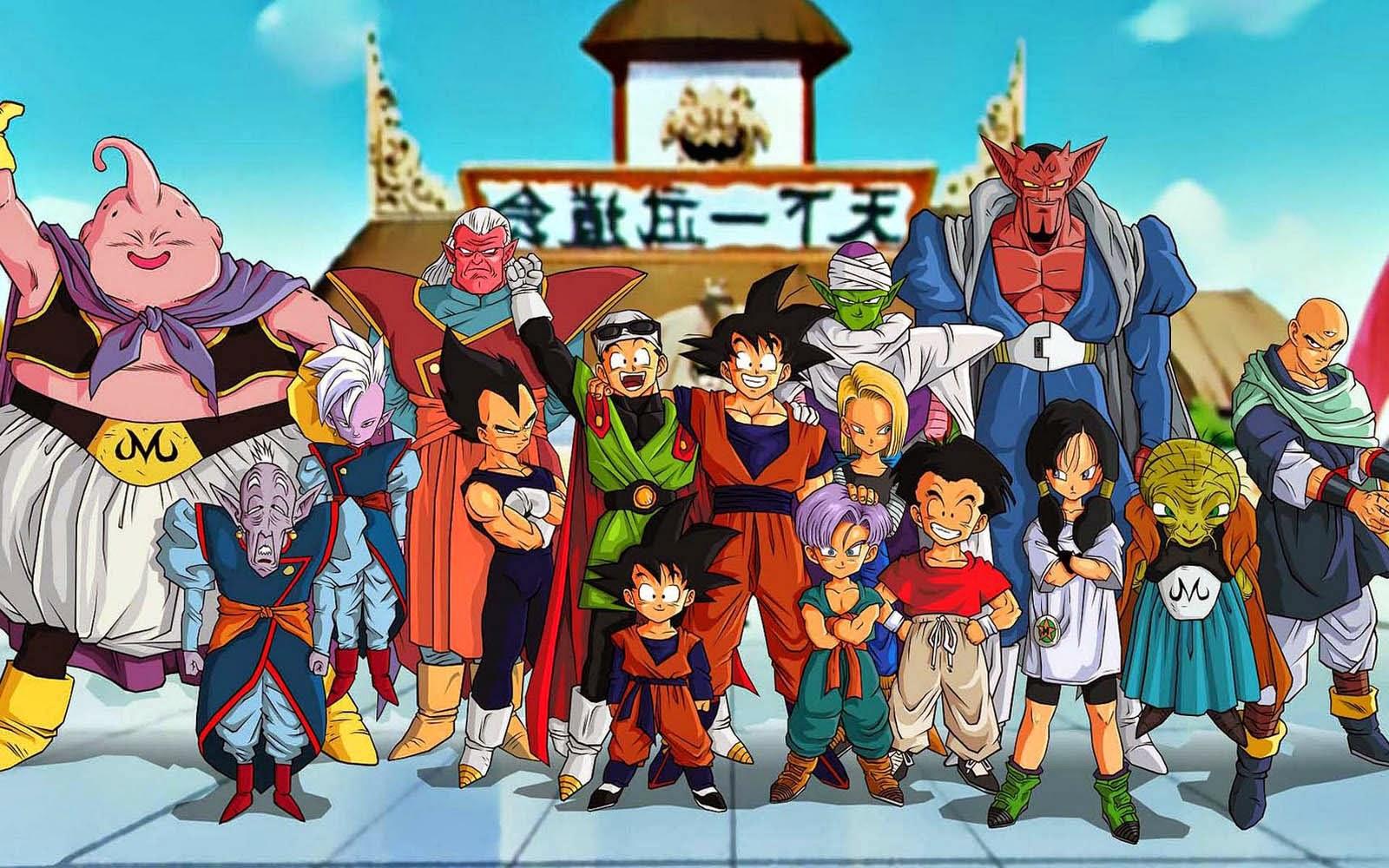 Download Wallpaper Gambar Kartun Dragon Ball Gambar Kartun