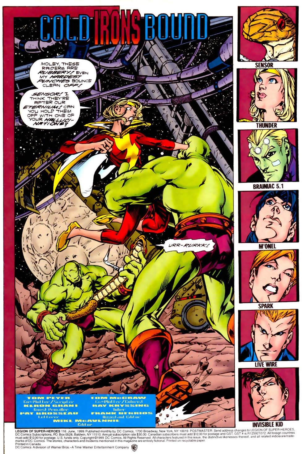 Legion of Super-Heroes (1989) 116 Page 1