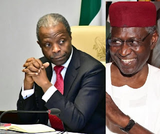 Osinbajo and Abba Kyari