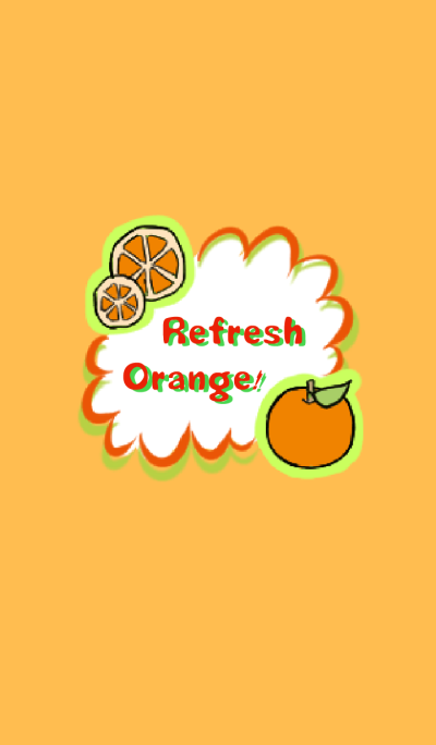 Refresh Orange!