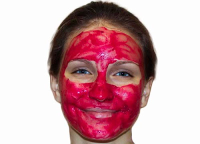 Home Made Beetroot Peel Off Mask