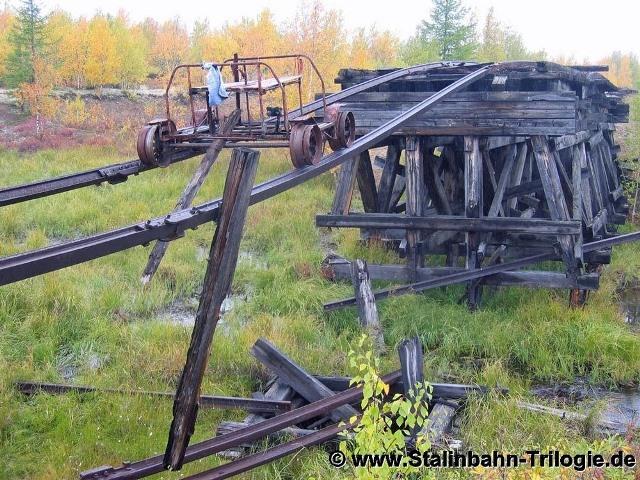 Ferrocarril Salejard-Igarka de la muerte de Stalin