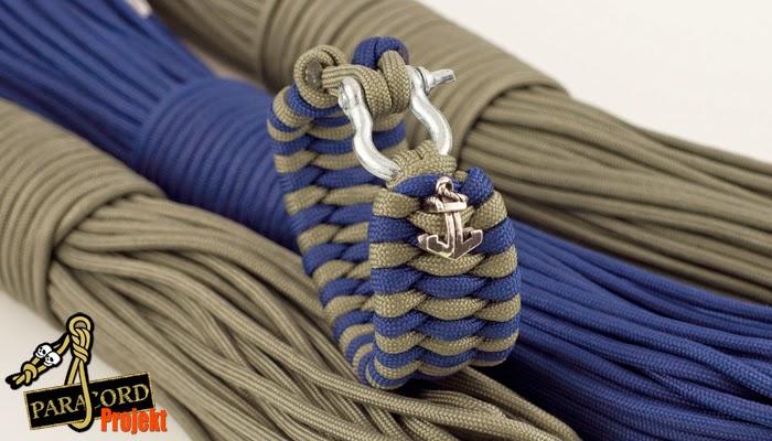Damska bransoletka z paracordu TRILOBITE BAR