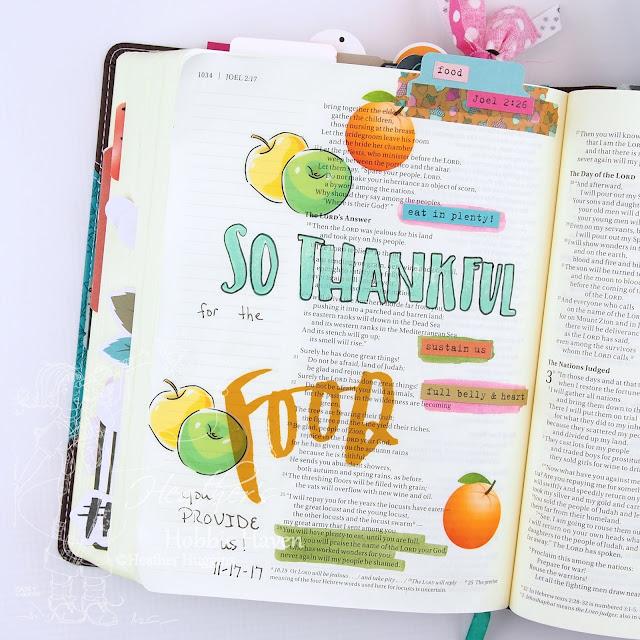 Heather's Hobbie Haven - Illustrated Faith - Gratitude Documented