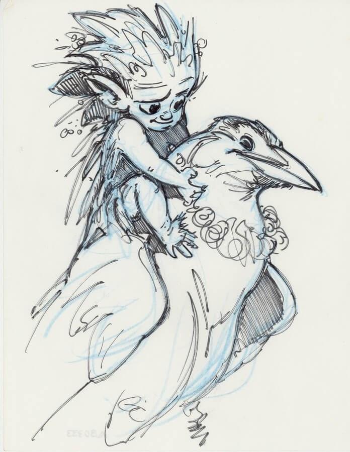 06-Aaron-Blaise-Creature-Sketches-www-designstack-co