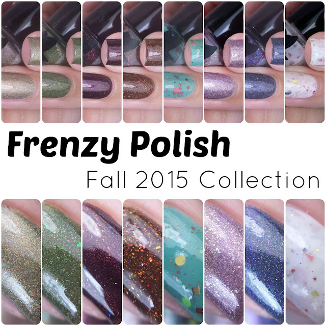 Frenzy Polish - Fall 2015 Collection