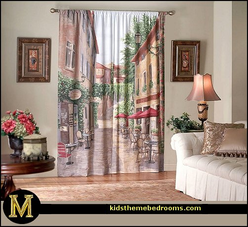 Decorating theme bedrooms - Maries Manor French cafe Paris Bistro - paris themed living room