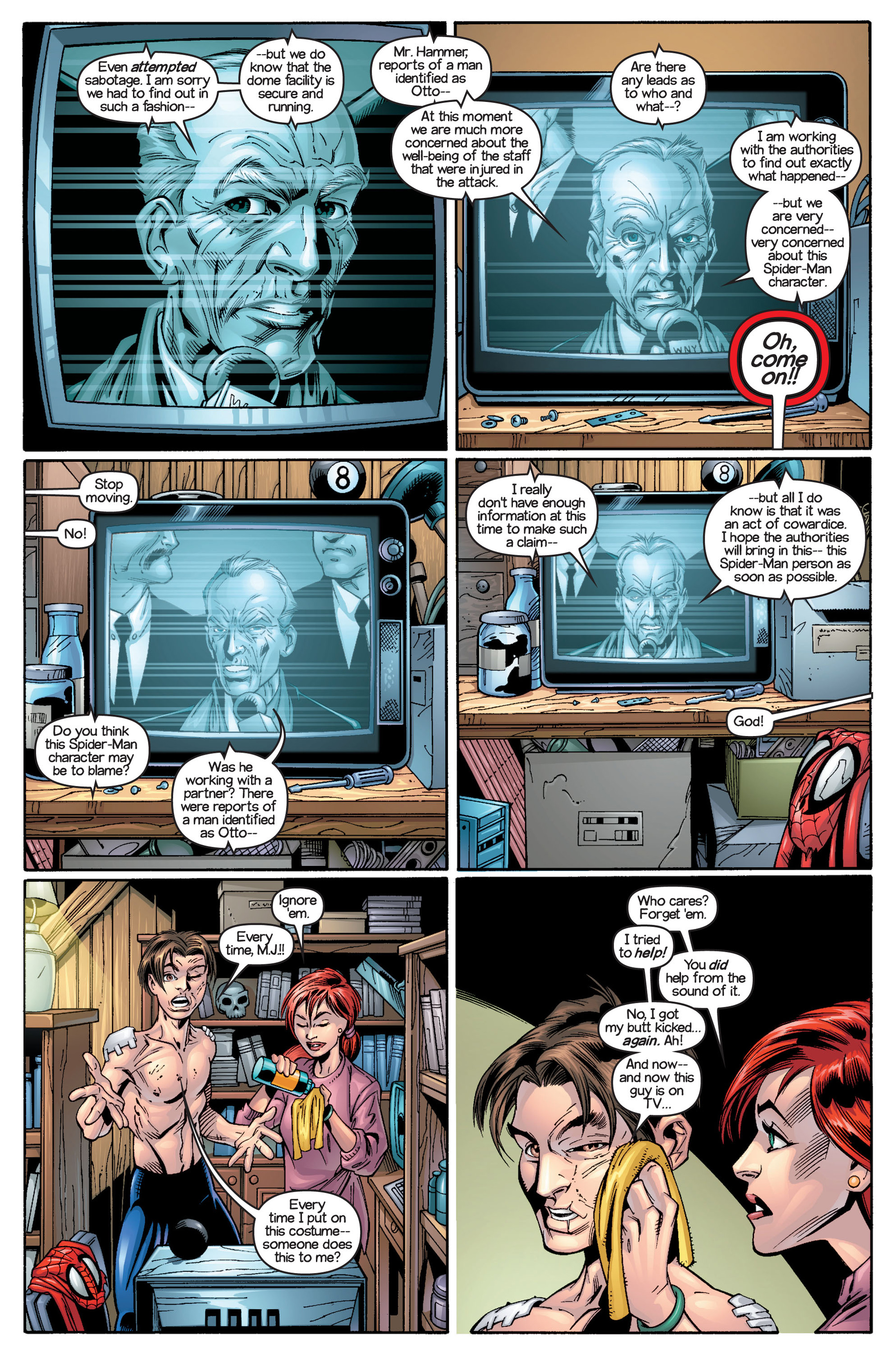 Read online Ultimate Spider-Man (2000) comic -  Issue #18 - 14