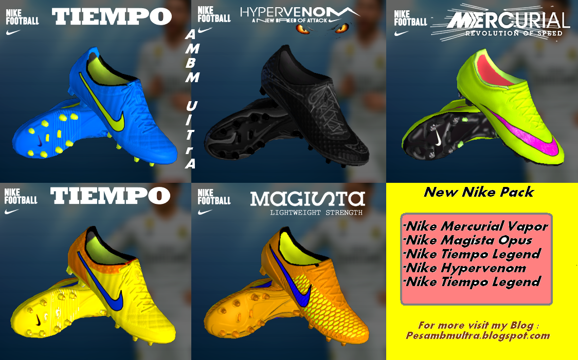 PES 2013 New Nike Pack Boots - LOLG GAMES a804d0954d7c8