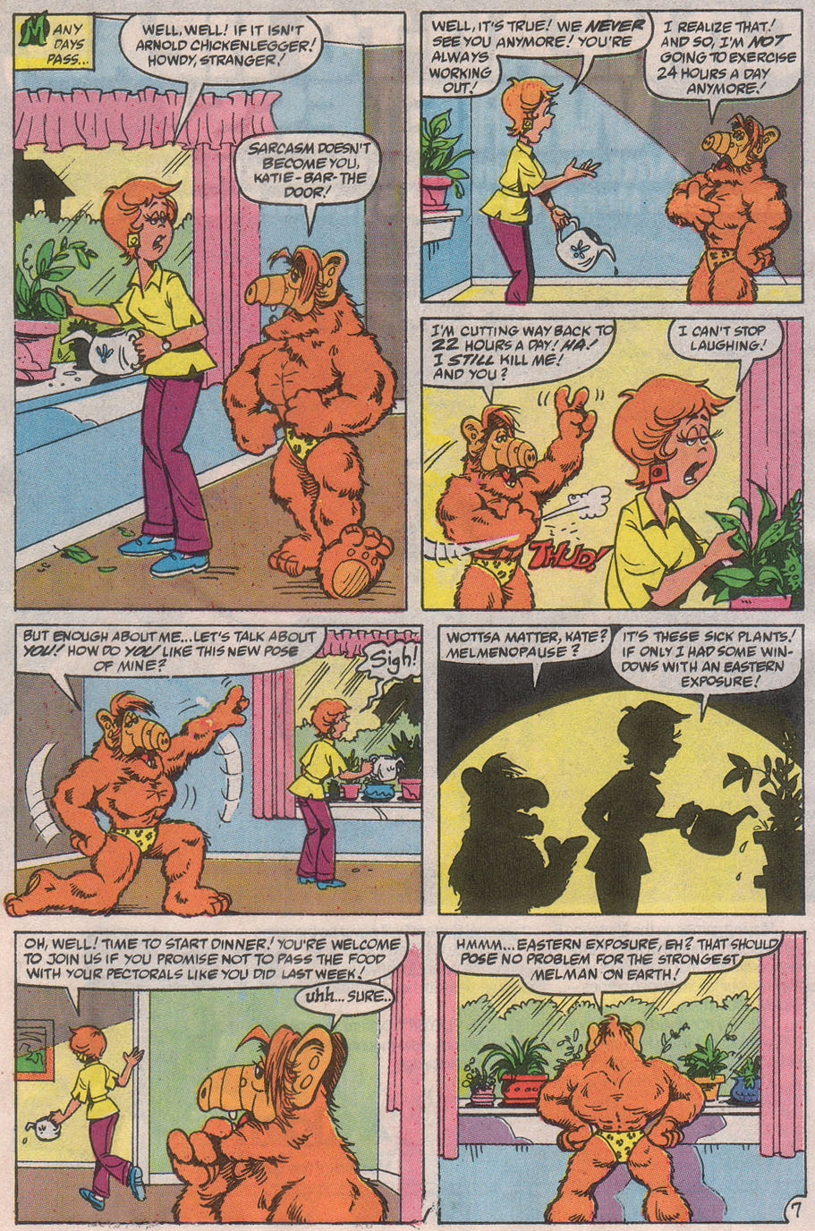 Read online ALF comic -  Issue #32 - 11