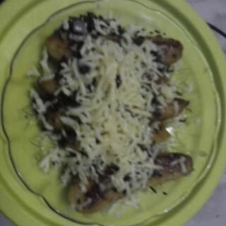resep pisang coklat keju panggang