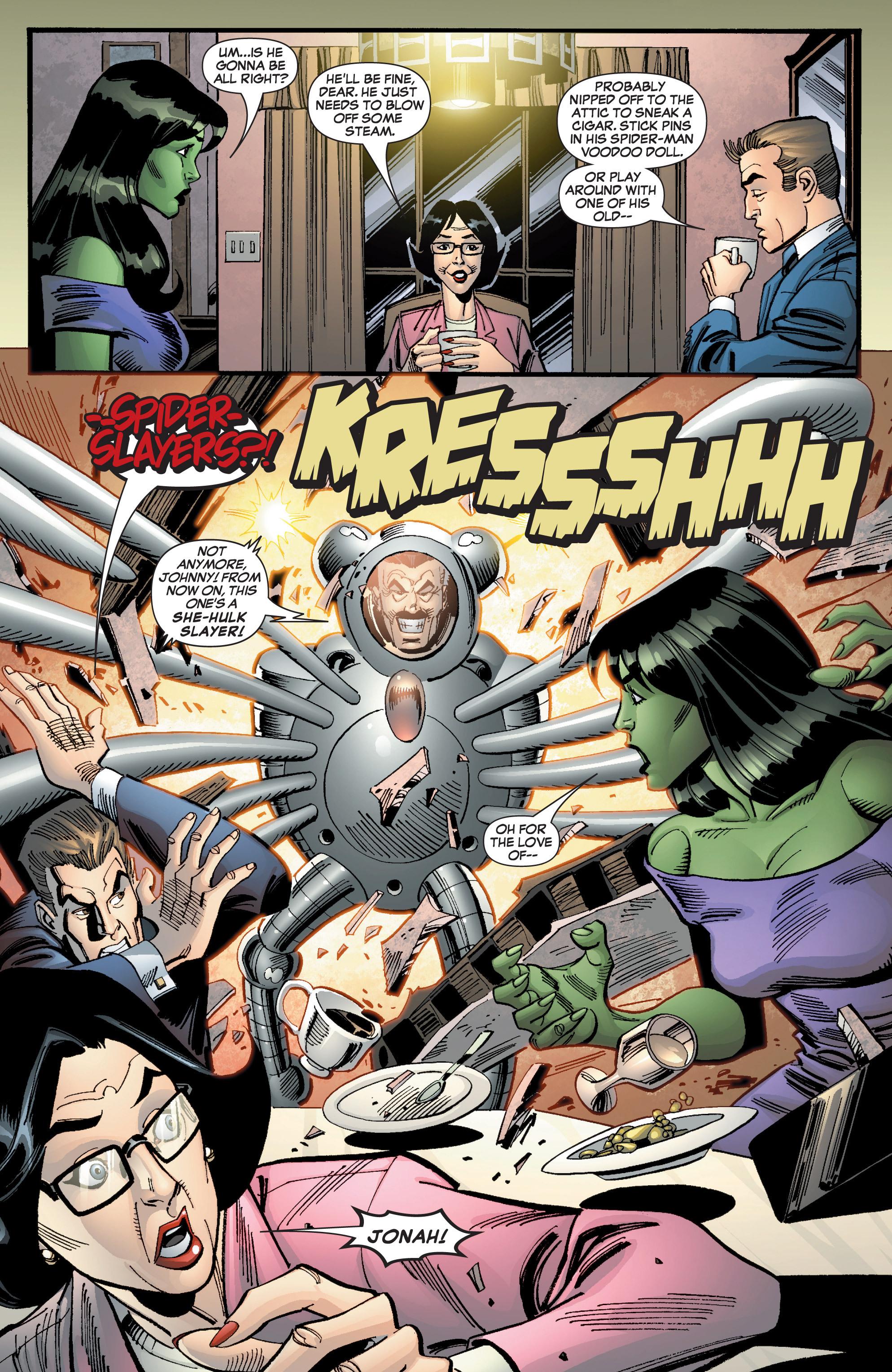 Read online She-Hulk (2005) comic -  Issue #9 - 20
