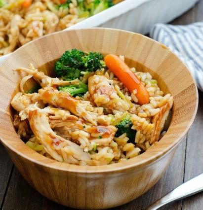 Teriyaki Chicken Casserole Recipes