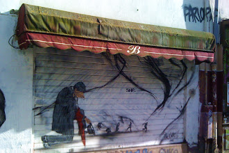 Sunday Street Art : Nick Walker - rue Ramponeau - Paris 20
